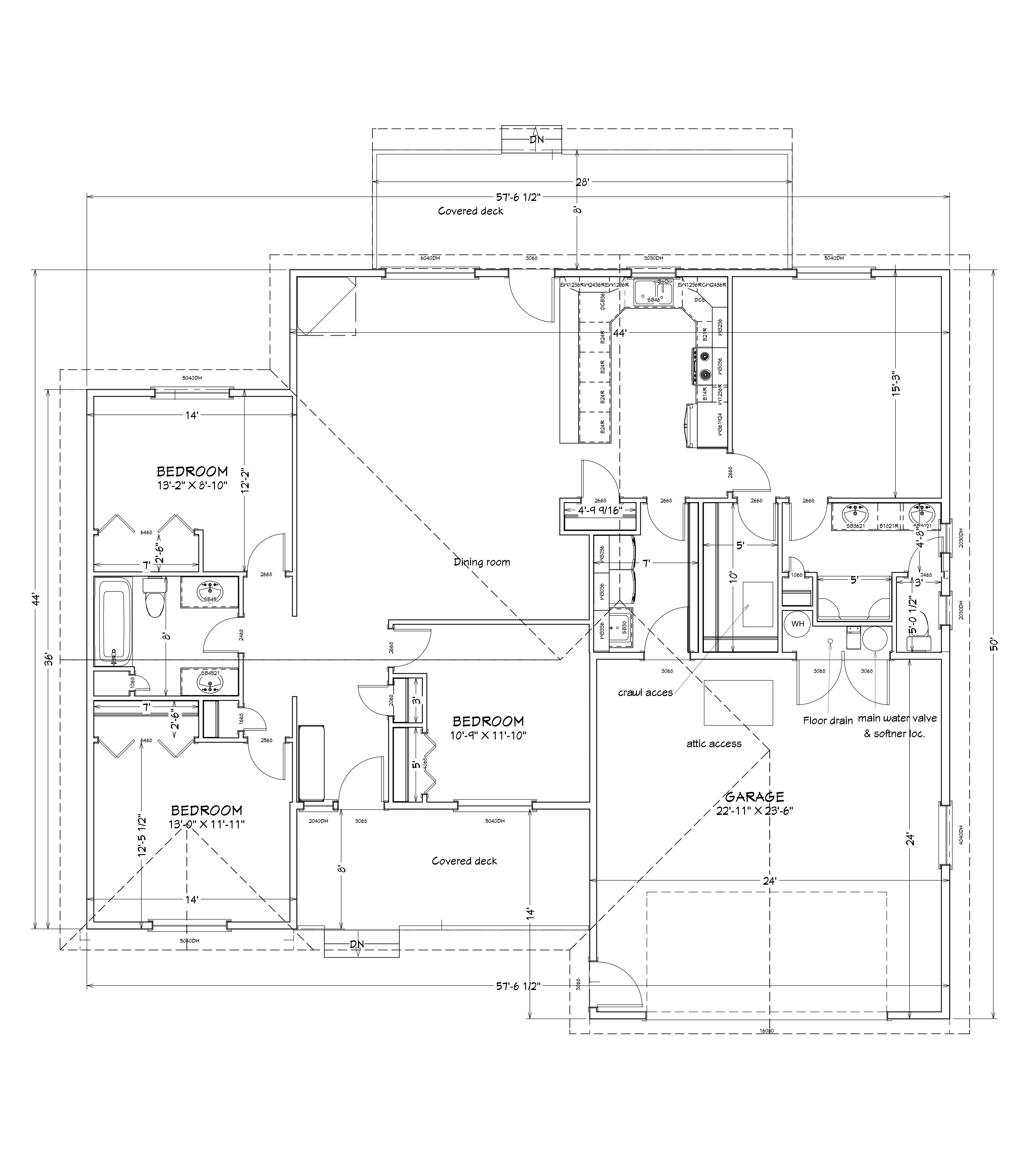Emerald Estates layout template